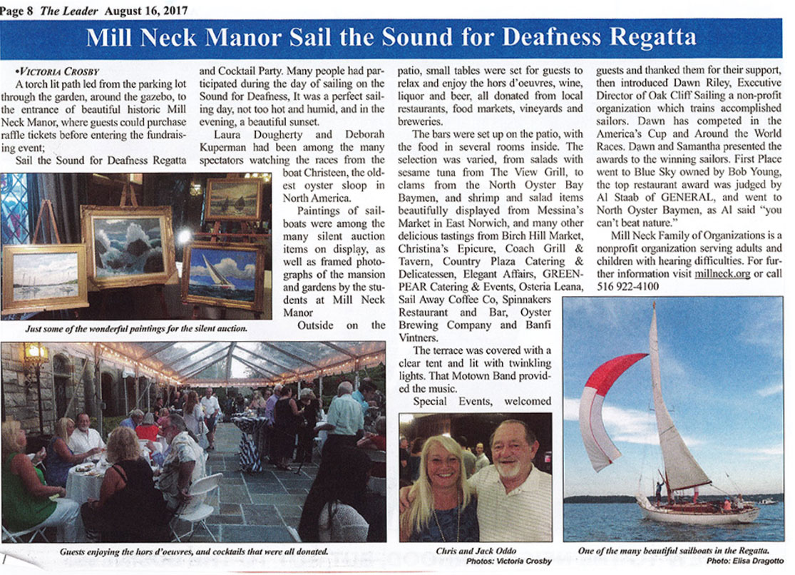 Sail for Deafness
