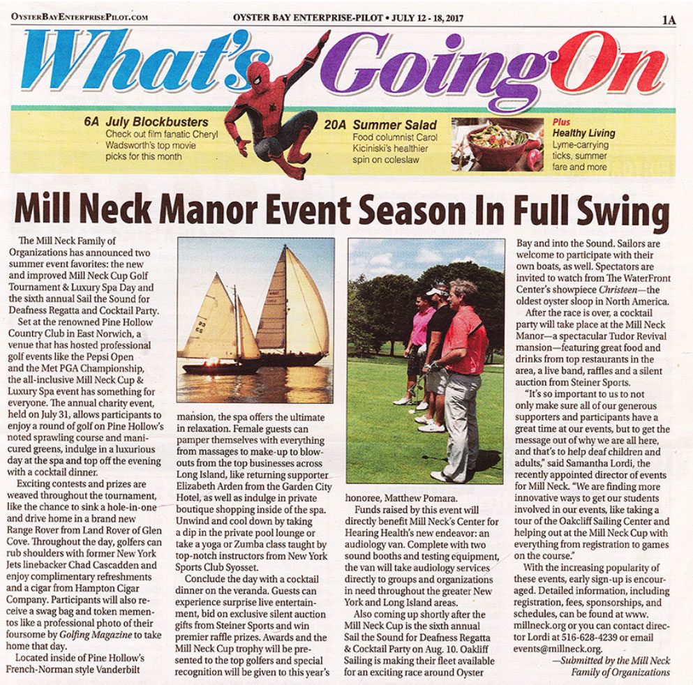 Mill Neck Manor Event Season in Full Swing