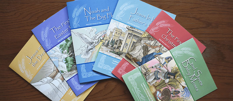 LFD Bible Story Books for Children