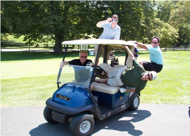 Mill Neck Cup Golf and Luxury Spa Day was a Hole in One