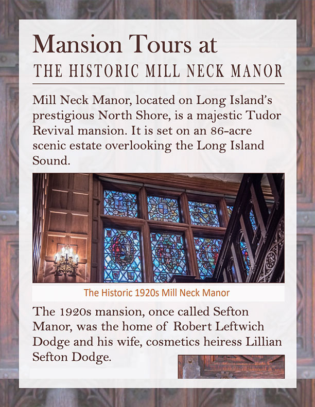 Mill Neck Manor Tours