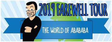 2019 farewell tour the world of abababa
