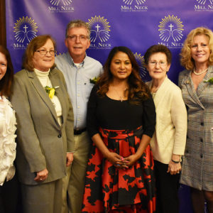 Mill Neck Manor Alumni Association members with Dr. Asiah Mason, CEO of Mill Neck Manor Family of Organizations